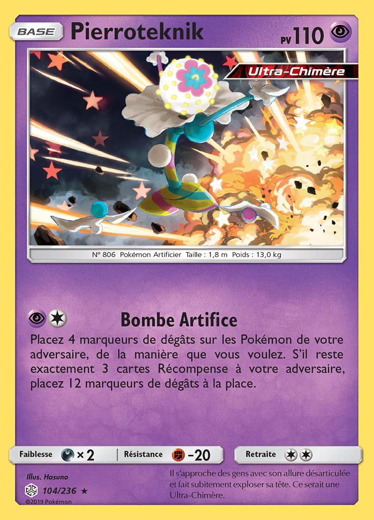 Pierroteknik Promo SM221 Pokémon